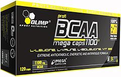 купить Olimp BCAA Mega Caps 1100 120 капсул украина киев винница