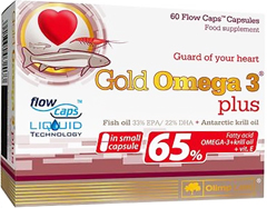 купить Olimp Gold Omega-3 Plus 60 капсул (mala capsulka) украина киев винница
