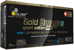 купить Olimp Gold Omega 3 Sport Edition 120 капсул украина