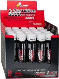купить Olimp L-Carnitine 3000 extreme shot 20 ампул украина