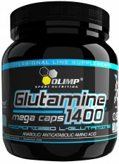 купить OLIMP L-Glutamine 1400 Mega Caps (300 капс) украина