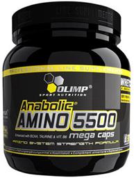 купить Olimp Labs Anabolic AMINO 5500 mega caps - 400 капсул украина