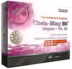 купить Olimp Labs Chela-Mag B6 30 капсул украина киев винница