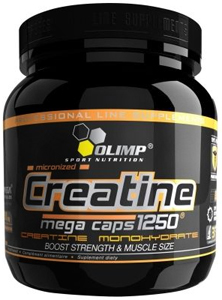 купить Olimp Labs CREATINE MEGA CAPS 1250 400 капсул украина