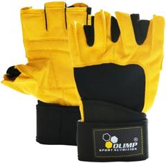 купить Olimp Raptor - спортивные перчатки для пауэрлифтинга и бодибилдинга украина
