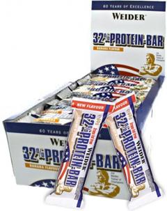 купить Протеиновый батончик Weider 32% Protein-bar (24 шт по 60 гр) украина киев винница