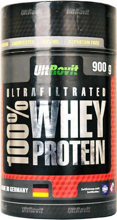 купить Ultrovit 100% WHEY PROTEIN ultrafiltrated 900 гр украина
