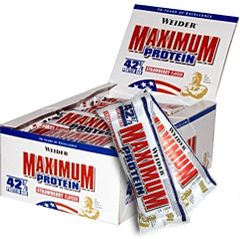 Weider 42% Maximum Protein bar (16 по 100 гр)