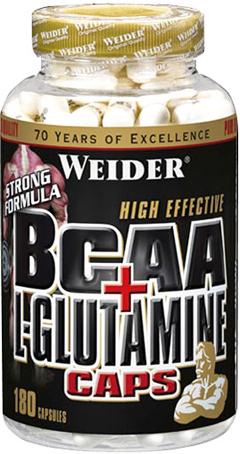 купить Weider BCAA + L-Glutamine Caps 180 капсул украина киев винница