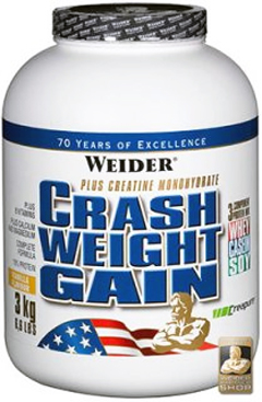купить Weider Crash Weight Gain 3 кг украина