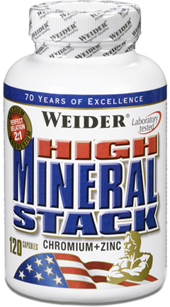 купить Weider High Mineral Stack 120 капсул украина