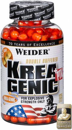 купить Weider Krea Genic+PTK 135 капсул украина
