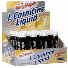 купить Weider L-CARNITINE 1800 mg Liquid 20 ампул украина