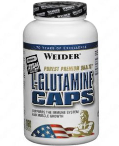 купить Weider L-Glutamine CAPS 160 украина