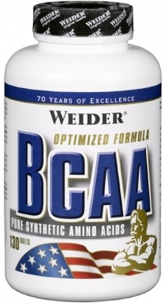 Weider Maximum All Free Form BCAA (Pure Synthetic Amino Acids) 260 табл в Киеве