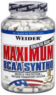 купить Weider Maximum BCAA Syntho 120 капс украина