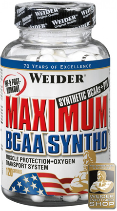Аминокислоты Weider Maximum BCAA Syntho 240 капсул в Киеве