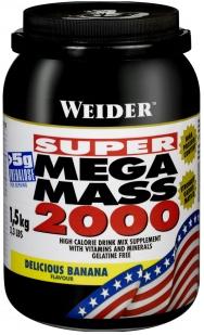 купить Weider Mega Mass 2000 1,5 кг украина