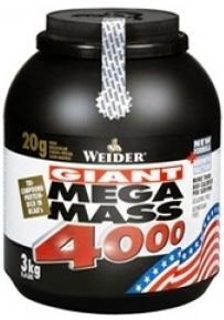 купить Weider Mega Mass 4000 3 кг украина