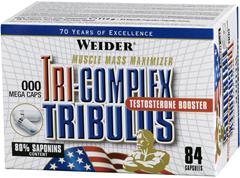купить Weider Tri-Complex Tribulus 84 капсул украина
